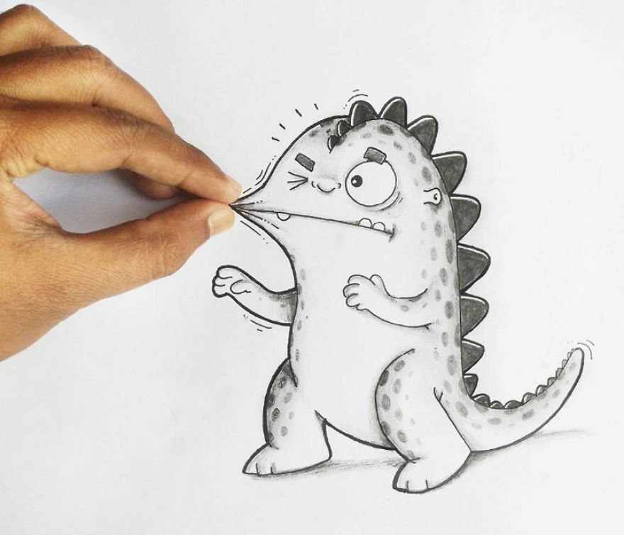 Drawing, cartoon, doodles, Drogo, cute, funny, adorable, amazing, awesome, art, photography