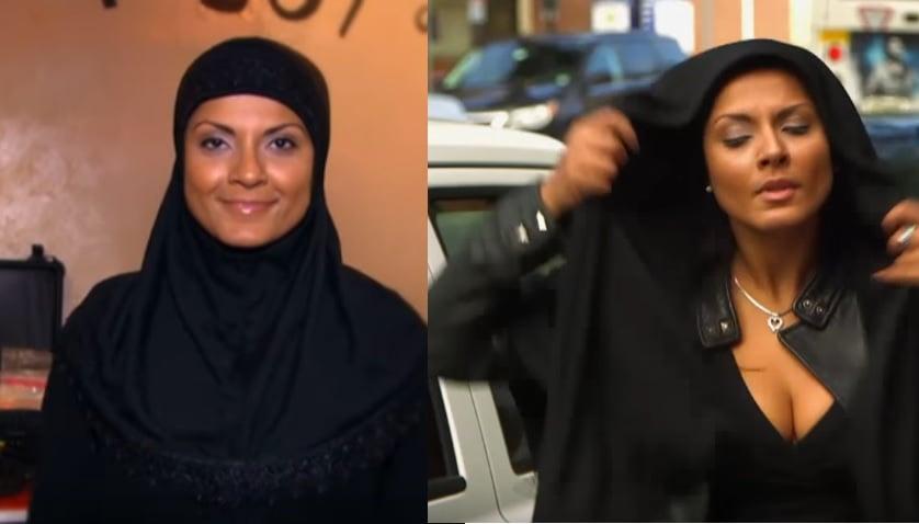american muslim, hijab, muslim woman, social experiment, islam, abc news
