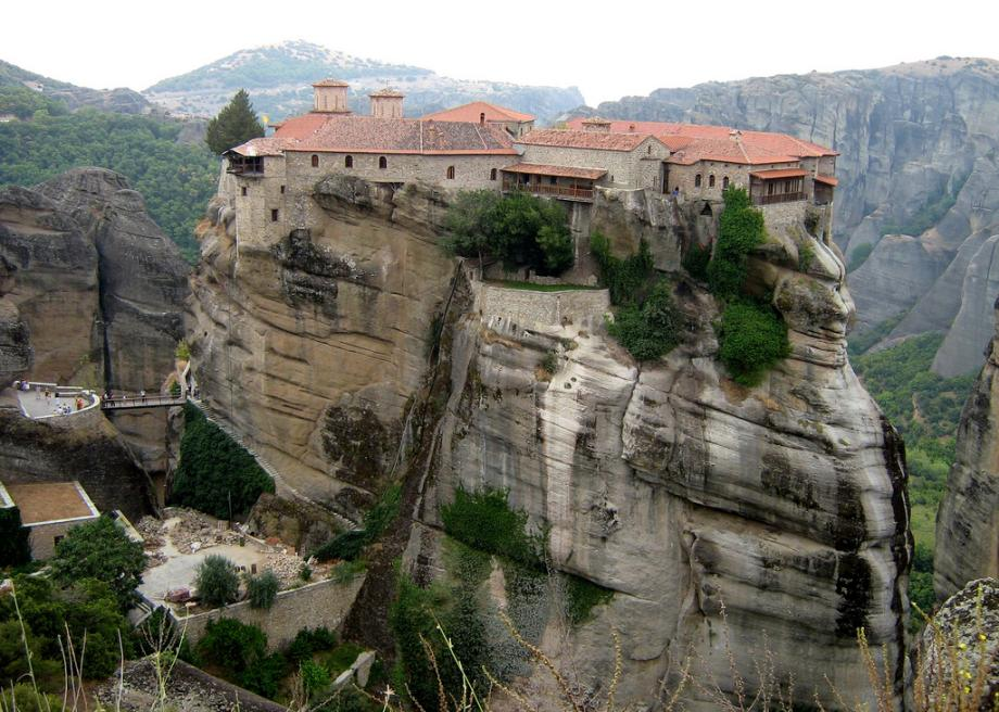 church, cliffs, greece, meteora, monasteries, monastery, monks, photos, places, temple, travel, UNESCO World Heritage, must visit before you die, must see before you die