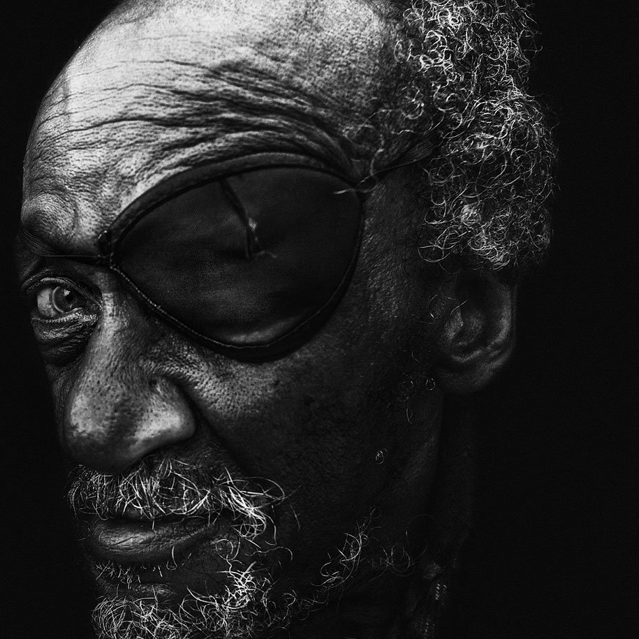 "Homeless People Portraits Photography By Lee Jeffries: ""Homeless"" - A Photo Series By Lee Jeffries"