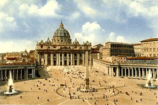 vatican , vatican city, vatican old photos, vatican city old photos, rome old photos, rome