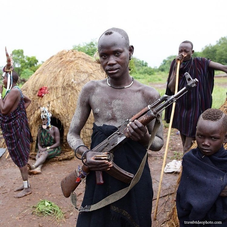 world s most dangerous people mursi tribes in africa reckon talk