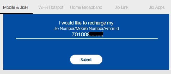 Reliance Jio Data Booster Plans - Online Recharge | Reckon Talk