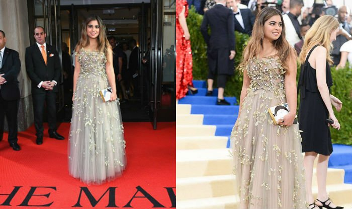 Isha Ambani, Met Gala 2017, red carpet