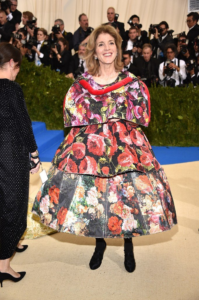 Roline Kennedy, Met Gala 2017, red carpet