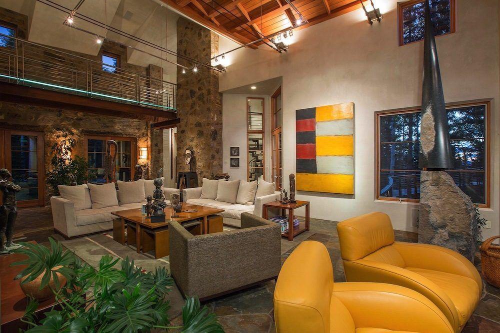 26 Inside Outside Home Design Photos Oprah Winfrey S High Tech