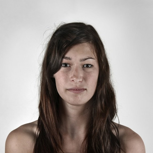 photography, ulric collette, viral, portraits, family portraits, half faces photos, split faces photos, men vs women, genetic portraits, half brother, half sister
