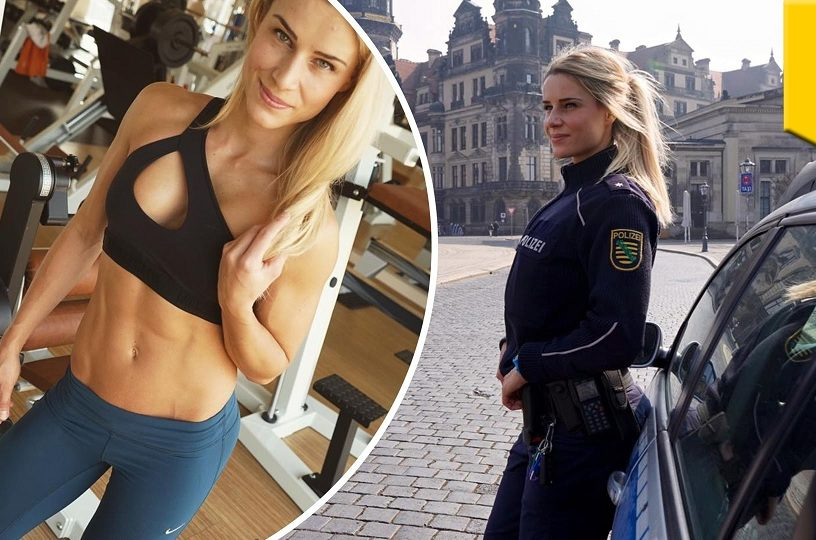 hot girl police officer
