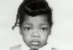 Oprah Winfrey's young child hood photo