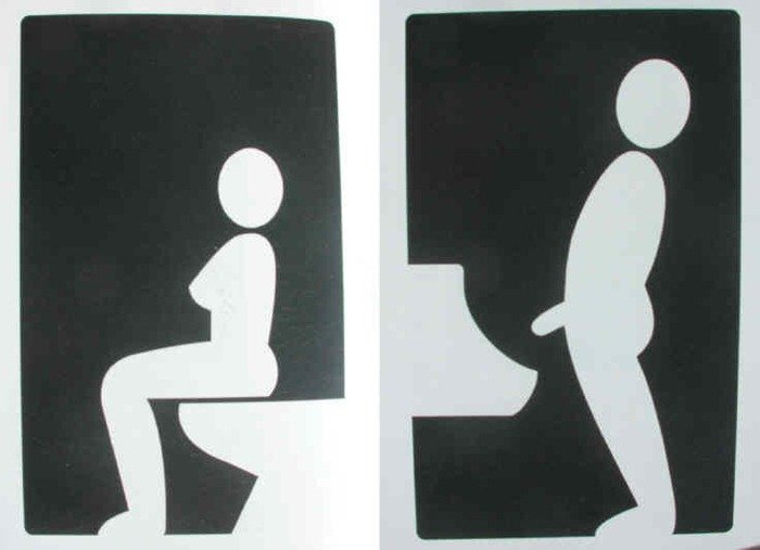photograph regarding Funny Bathroom Signs Printable known as 15 Humorous and Innovative Lavatory Symptoms versus About the Worldwide