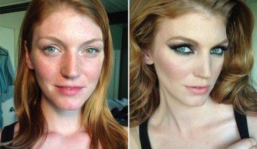 power of makeup, makeup pics, makeup ideas, makeup tips, makeup transformation, before and after photos, hair transformation, ugly to pretty