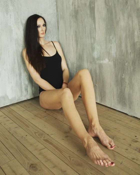 ekaterina lisina, longest leg, longest leg model, longest leg girl, longest leg women, russia, russian, guinness world records, world's tallest model