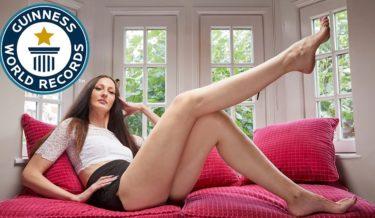 ekaterina lisina, longest leg, longest leg model, longest leg girl, longest leg women, russia, russian, guinness world records, world's tallest model