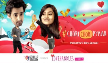 valentine, gorilla shorts, love, #ChoriChoriPyaar, short film, funny valentine day, funny valentine day video, office romance, satyajeet dubey, russhita singh