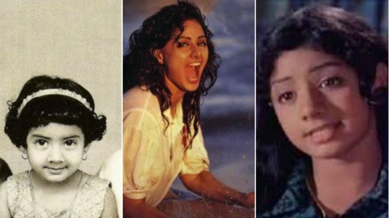 In The Memory Of Sridevi Some Unseen Pics Of Her Childhood
