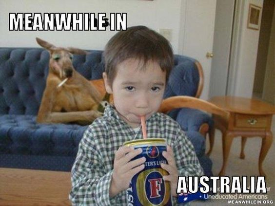 australia kid beer, crazy, meanwhile in australia, weird australian, only in australia, memes australia, stupid australia, facts australia