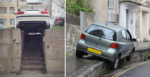 18 Photos Shows Crazy Car Parking by Stupid People